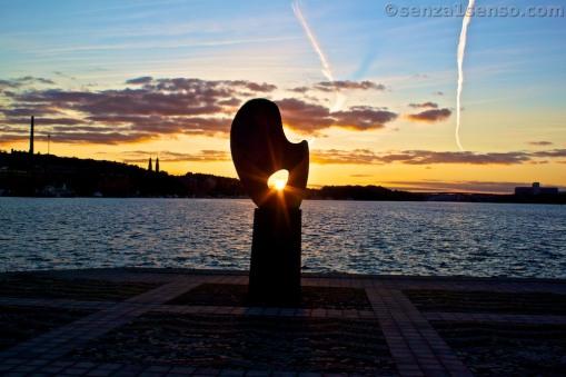 Uno sguardo al tramonto