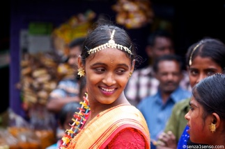 Smiling, tamil girl